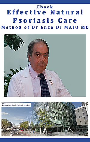 Ebook Effective Natural Psoriasis Care - Method of Dr DI MAIO